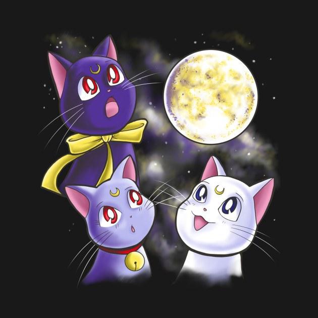 THREE MOON CATS
