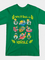 Ways of Travel in Hyrule T-Shirt