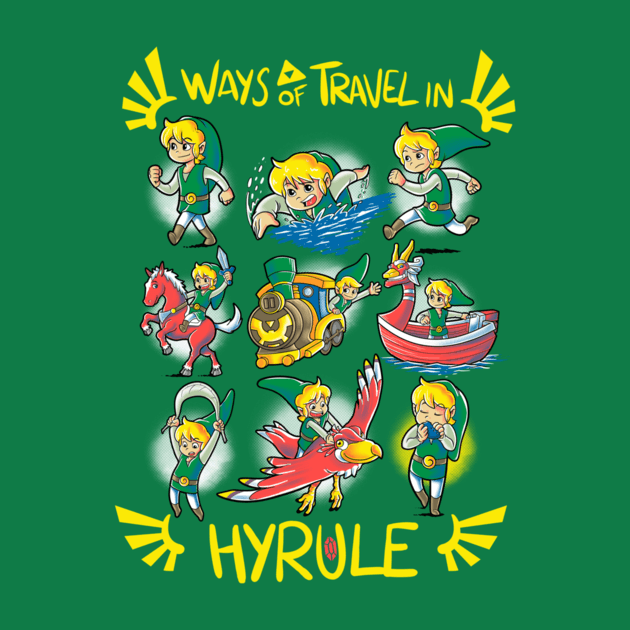 WAYS OF TRAVEL IN HYRULE