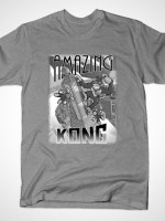 AMAZING KONG TEXT T-Shirt