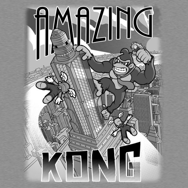 AMAZING KONG TEXT
