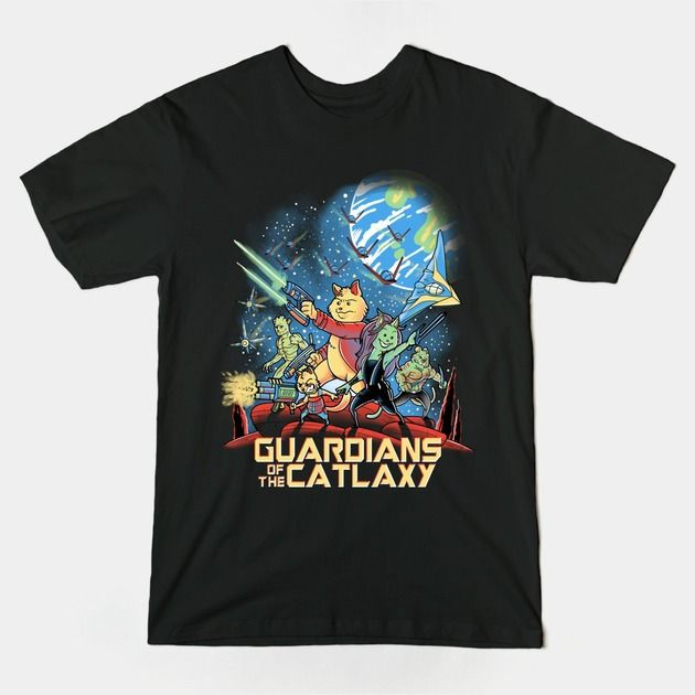 GUARDIANS OR THE CATLAXY