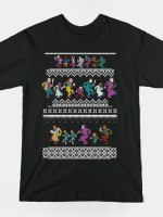 MONSTER HOLIDAY SWEATER T-Shirt