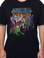 Masters Of The Universe Cast T-Shirt