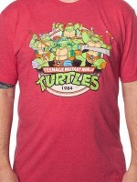 Red Ninja Turtles T-Shirt