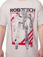 Robotech Battloid Crossection T-Shirt