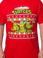 TMNT Group Christmas T-Shirt