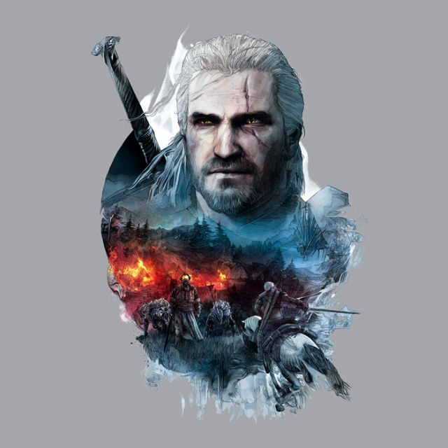 The Witcher 3 Into the Fire