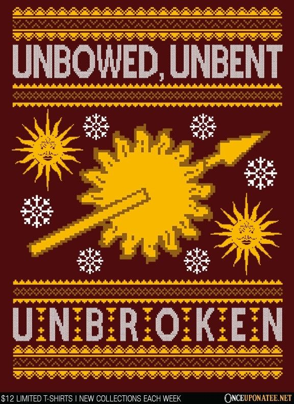 Unbowed. Unwrapped. Unbroken.