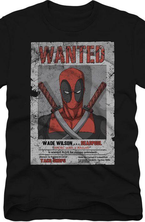 Wanted Deadpool