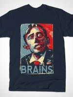 ZOMBAMA: BRAINS T-Shirt