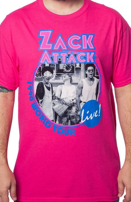 Zack Attack World Tour