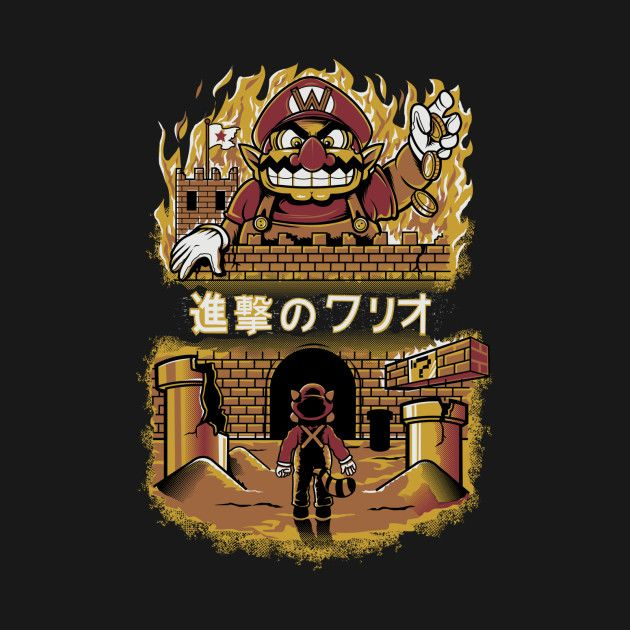 ATTACK ON WARIO