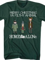 Filthy Animal Home Alone T-Shirt