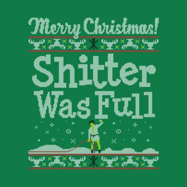 SHITTER WAS FULL!
