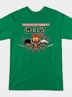 TEENAGE MUTANT POWERPUFF GIRLS V2 T-Shirt