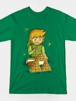TRIFORCE COMPLETED Green T-Shirt
