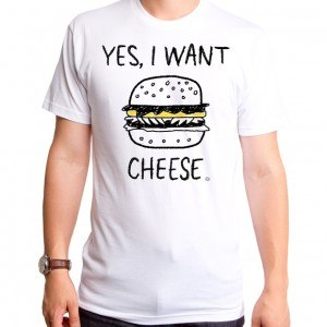 Yes I Want Cheese