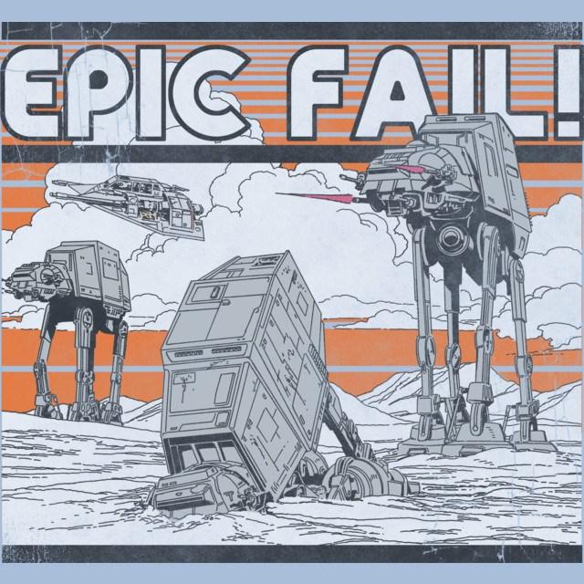 AT-AT Epic Fail