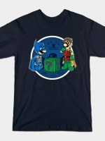 BATMARIO VS RIDDLER T-Shirt