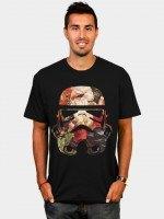 Floral Print Stormtrooper T-Shirt
