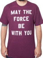 Red Force Be With You Star Wars T-Shirt