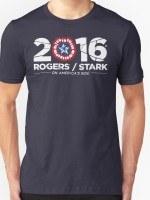 Rogers / Stark 2016: Broken Shield Edition T-Shirt