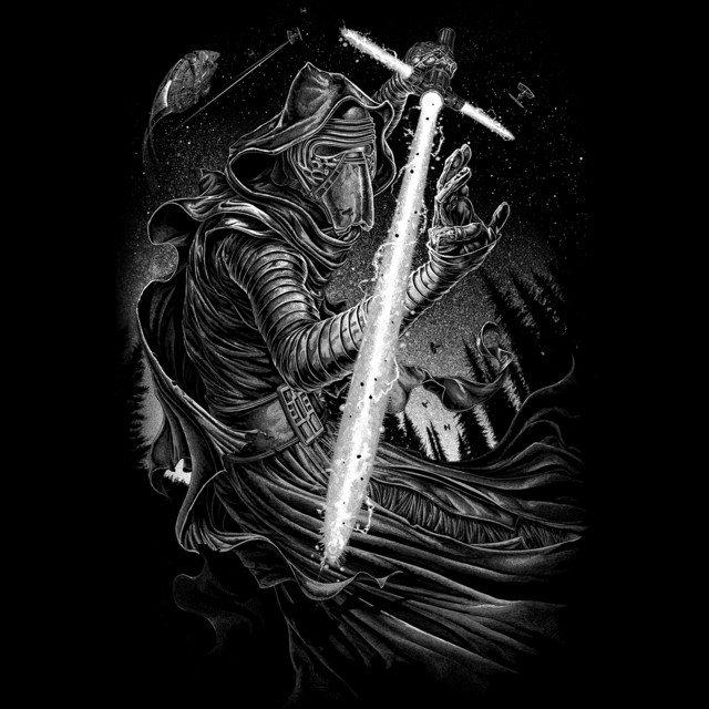 Shadow of Kylo Ren