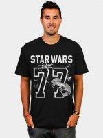 Star Wars 77 Athletic Print T-Shirt