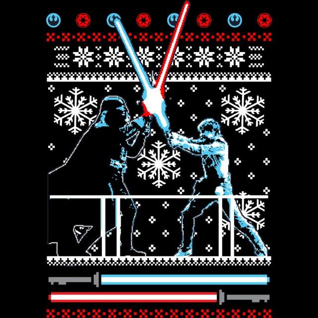 Star Wars Christmas Duel