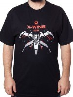 Star Wars Force Awakens X-Wing T-Shirt