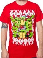 Teenage Mutant Ninja Turtles Christmas T-Shirt