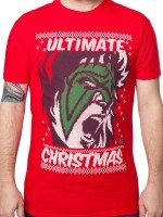 Ultimate Warrior Christmas T-Shirt