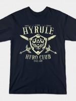 HYRULE HERO CLUB T-Shirt