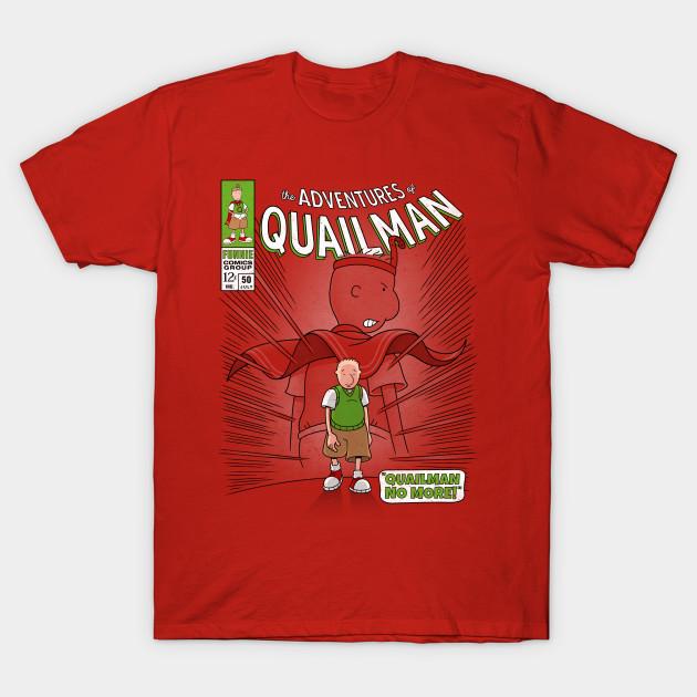 Quailman No More!
