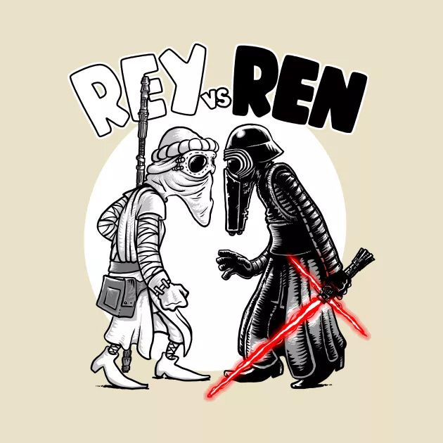 REY VS REN T-Shirt