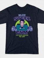 Blue Steel Gym T-Shirt