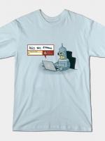ROBOT DETECTOR T-Shirt