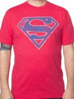 Red Superman Logo T-Shirt