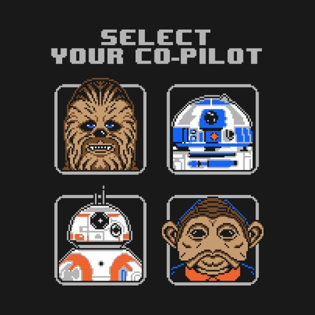 SELECT YOUR CO-PILOT