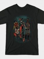 The Walking Caped Crusaders T-Shirt