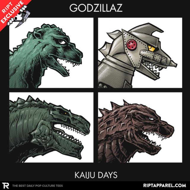 Godzillaz - Kaiju Days