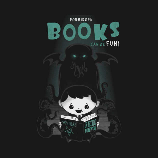Forbidden books can be fun!