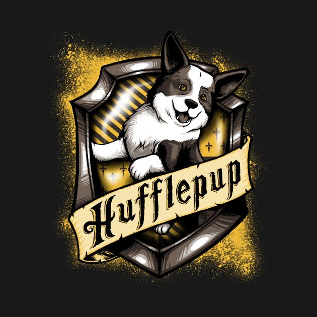 Hairy Pupper House Hufflepup