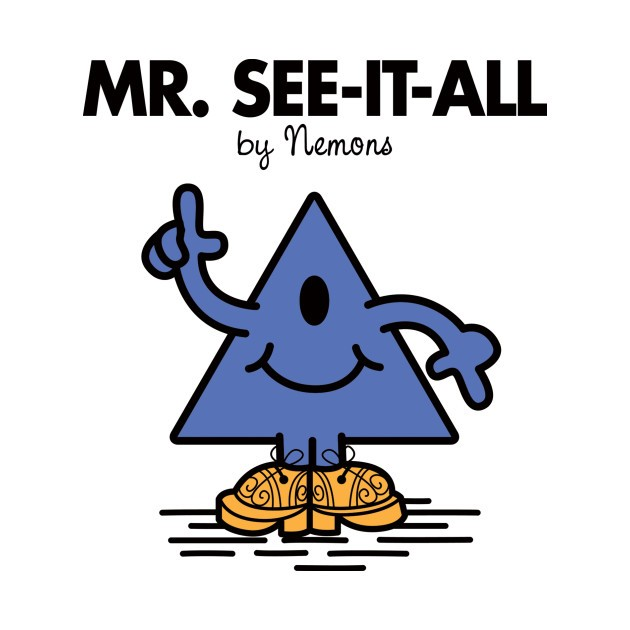 MR. SEE-IT-ALL