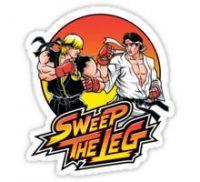 Sweep the Leg Sticker
