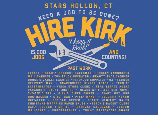 Hire Kirk