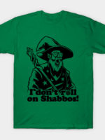 I Don't Roll a D20 on Shabbos T-Shirt