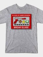 IN CASE OF GAMER INVASION T-Shirt