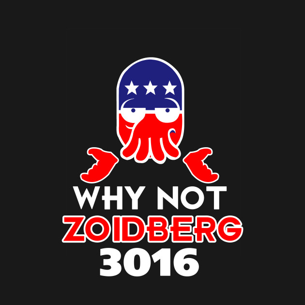 Why Not Zoidberg 3016 - Futurama T-Shirt - The Shirt List